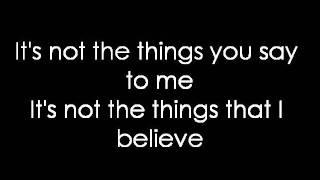 12 Stones - Back Up (lyrics)