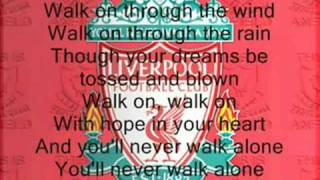 Gambar cover You'll never Walk Alone -Liverpool-With Lyrics