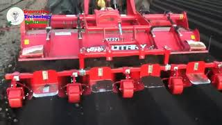 The Best Engineering Biggest Tractors Farmer Harvesting technology japan