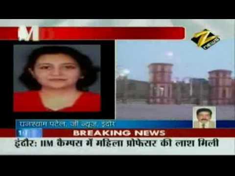 Bulletin # 2 - Lady professor found dead inside IIM Indore campus Dec. 18 '09
