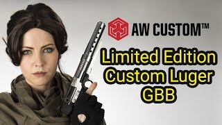 AW Custom Limited Edition Luger GBB - May the 4th Be With You