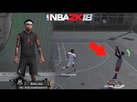 PURE SHARPSHOOTERS ARE DEMIGODS!! BEST UNGUARDABLE PLAYER BUILD!!! NBA 2K18