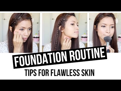 Drugstore Foundation Routine Beauty Tips For Flawless Skin
