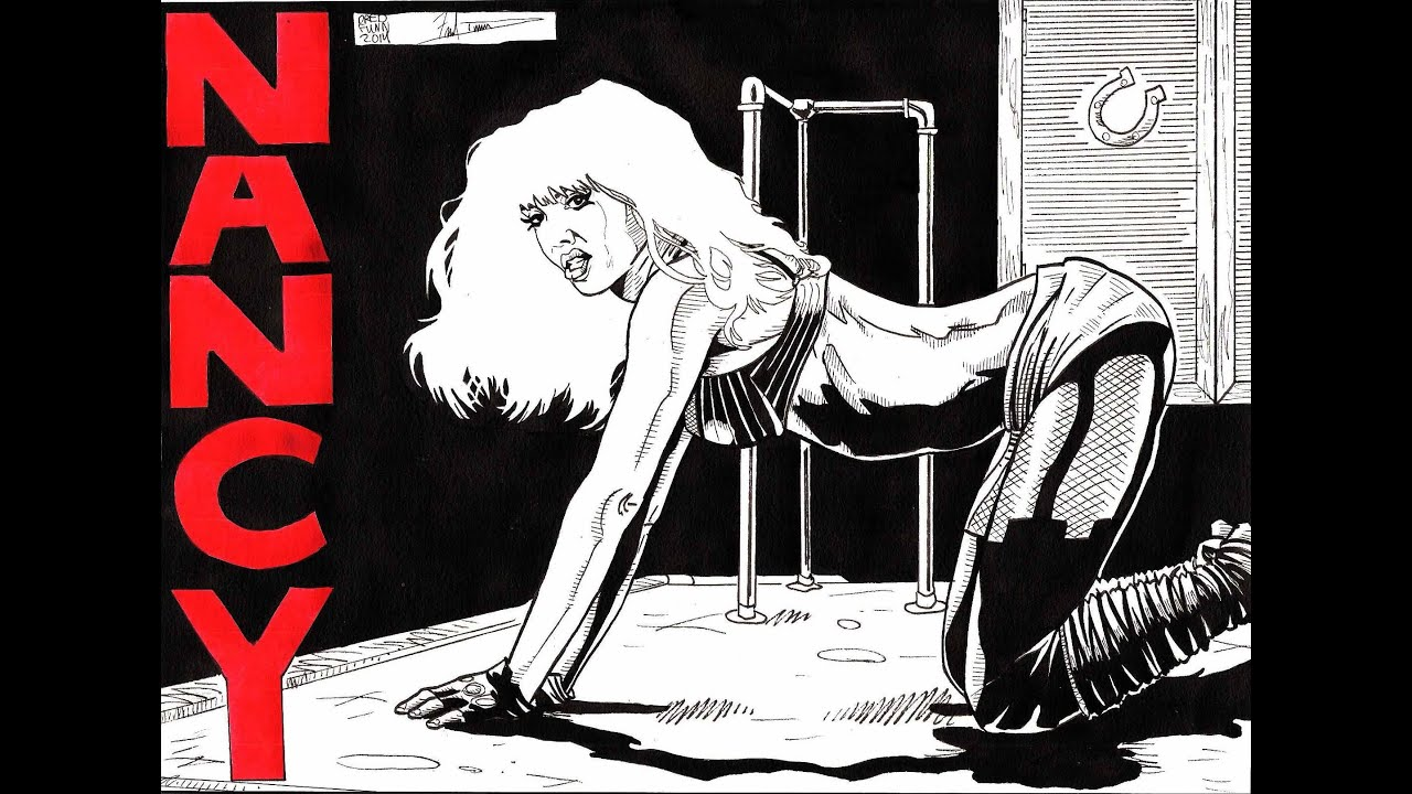 Nancy Sin City A Dredfunn Original Comic Style Timelapse ...