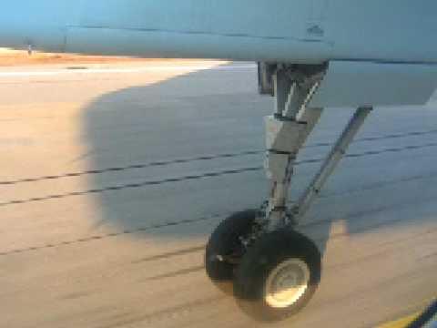 Landing in Varna, Bulgaria Airport (LBWN)