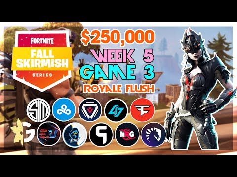 $250,000 🥊Royale Flush Fall Skirmish🥊 Week 5/Game 3 (Fortnite)