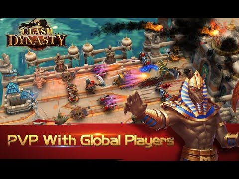 Clash Dynasty Gameplay iOS / Android