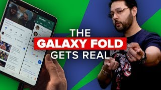 The Galaxy Fold gets real (Alphabet City)