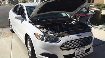 Ford Fusion 2013-2017 windshield replacement and a walk around the vehicle