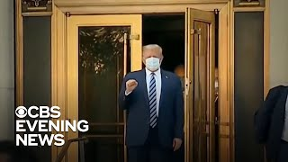 "Trump says he's ""immune"" to coronavirus"