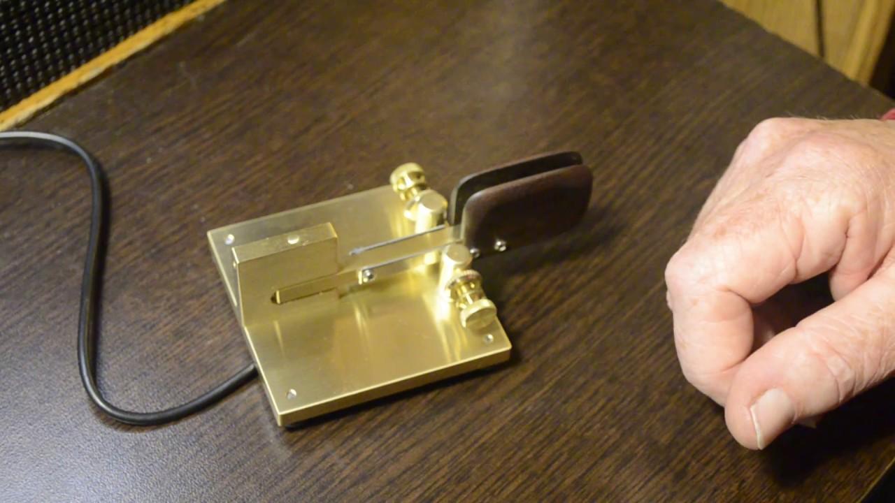 W1SFR Handmade Torsion Bar Morse Code Keys | Beautiful