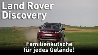 2017 Land Rover Discovery 5 - Familienkutsche für jedes Gelände   Test und Fahrbericht!