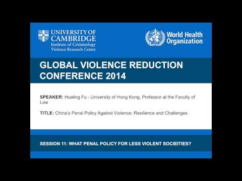 Hualing Fu - China's Penal Policy Against Violence: Resilience and Challenges