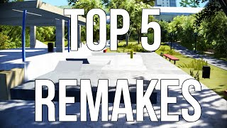 My Top 5 Remakes on Skate 3