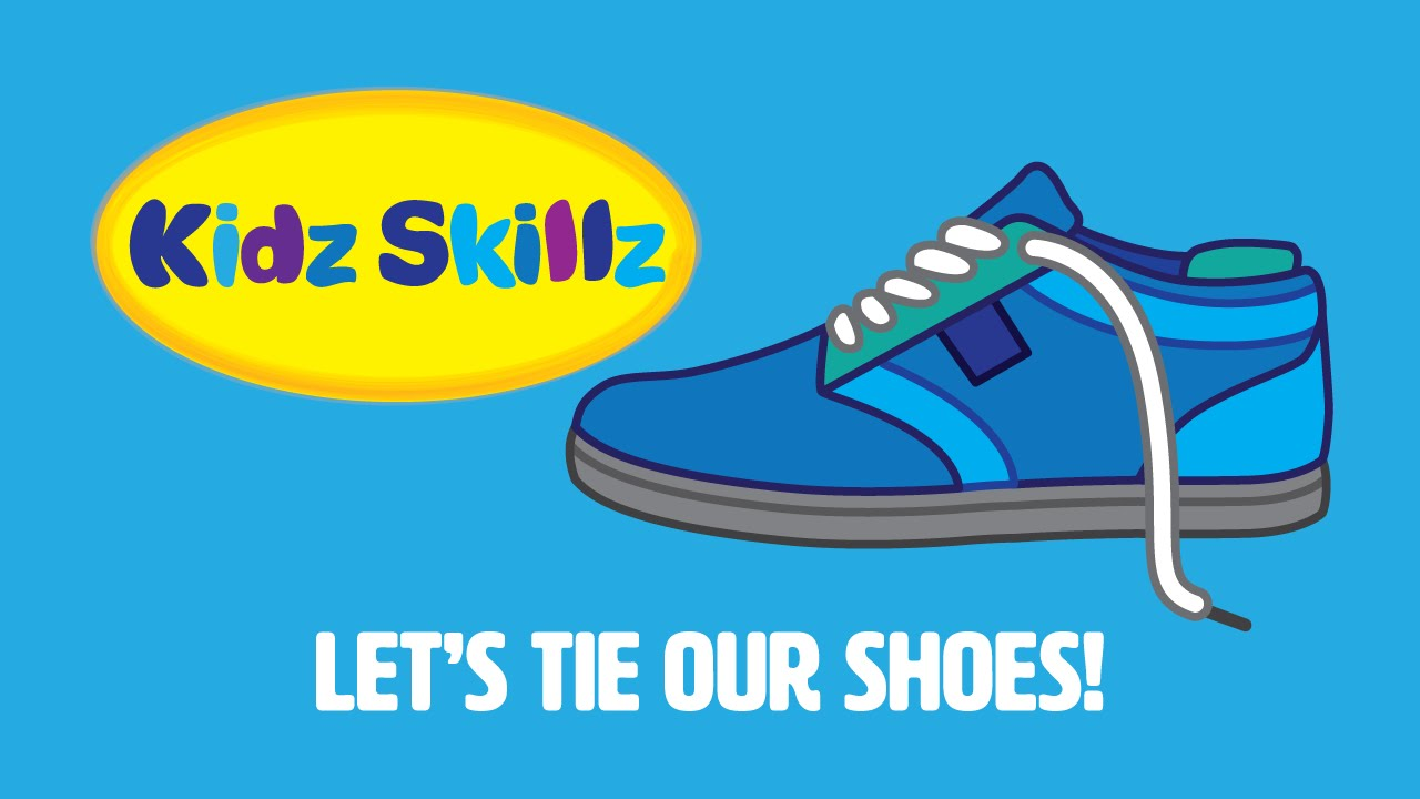 Kidz skillz presents lets tie our shoes youtube ccuart Images