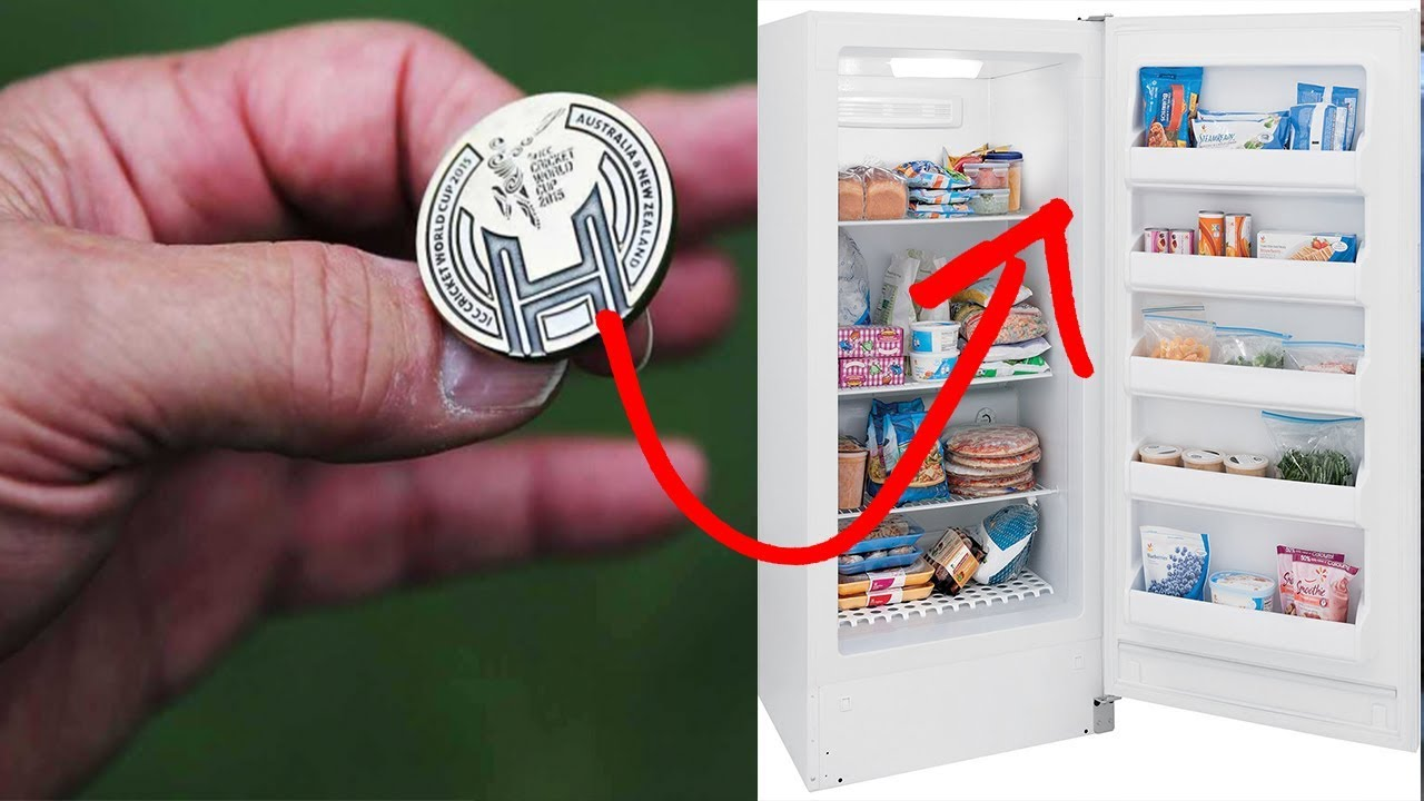 Here's Why You Should Leave aCoin inthe Freezer Before Leaving the House
