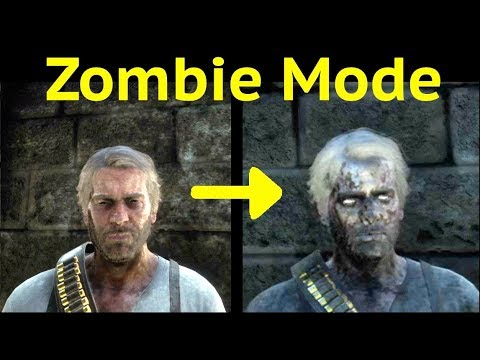 Zombie Mode in Red Dead Redemption 2 (RDR2): Green Mask and Explore Sisika Prison thumbnail