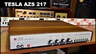 Tesla AZS 217 HiFi Stereo zesilovač amplifier Verstärker wzmacniacz #vintage #hifi #audio