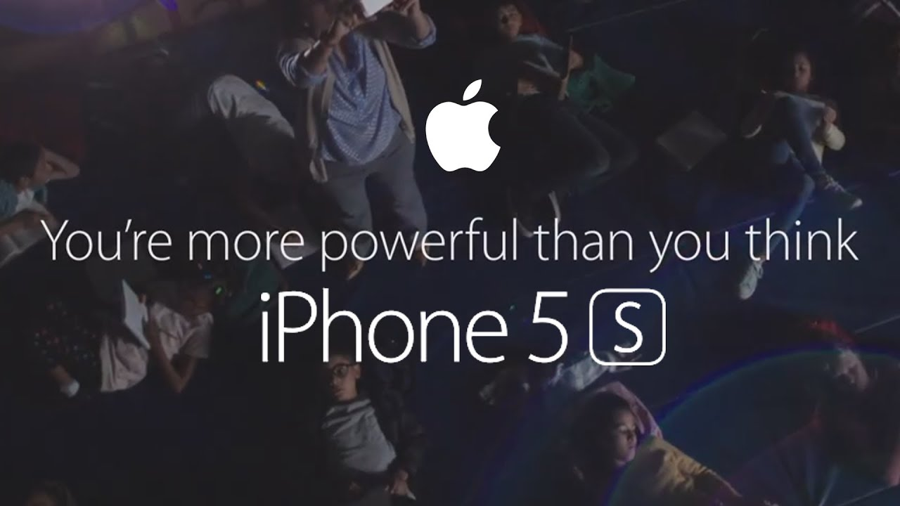 Apple - iPhone 5s - TV Ad - Powerful