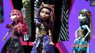 Toy Fair 2013 | Mattel | Monster High | Barbie | Disney's Sofia the First