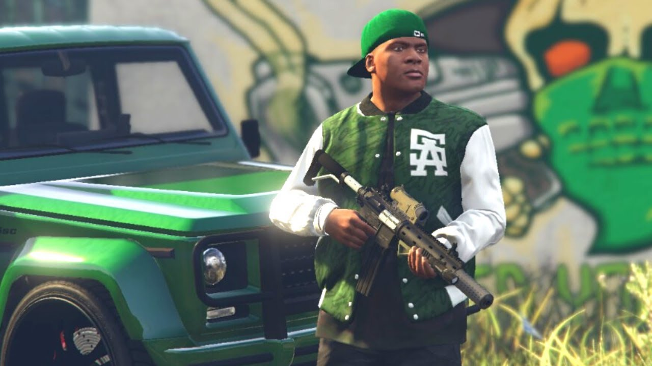 How to Join Grove Street Families Gang in GTA 5! (Secret Gang Missions)