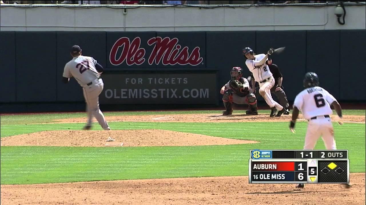 Ole Miss (7) vs Auburn (4) - Game 2 - 4-23-16 - YouTube