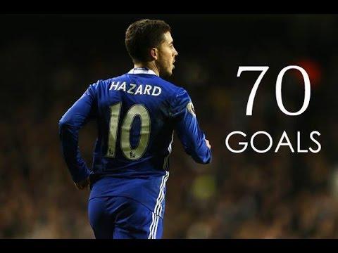 Download Eden Hazard - First 70 Goals For Chelsea FC - HD