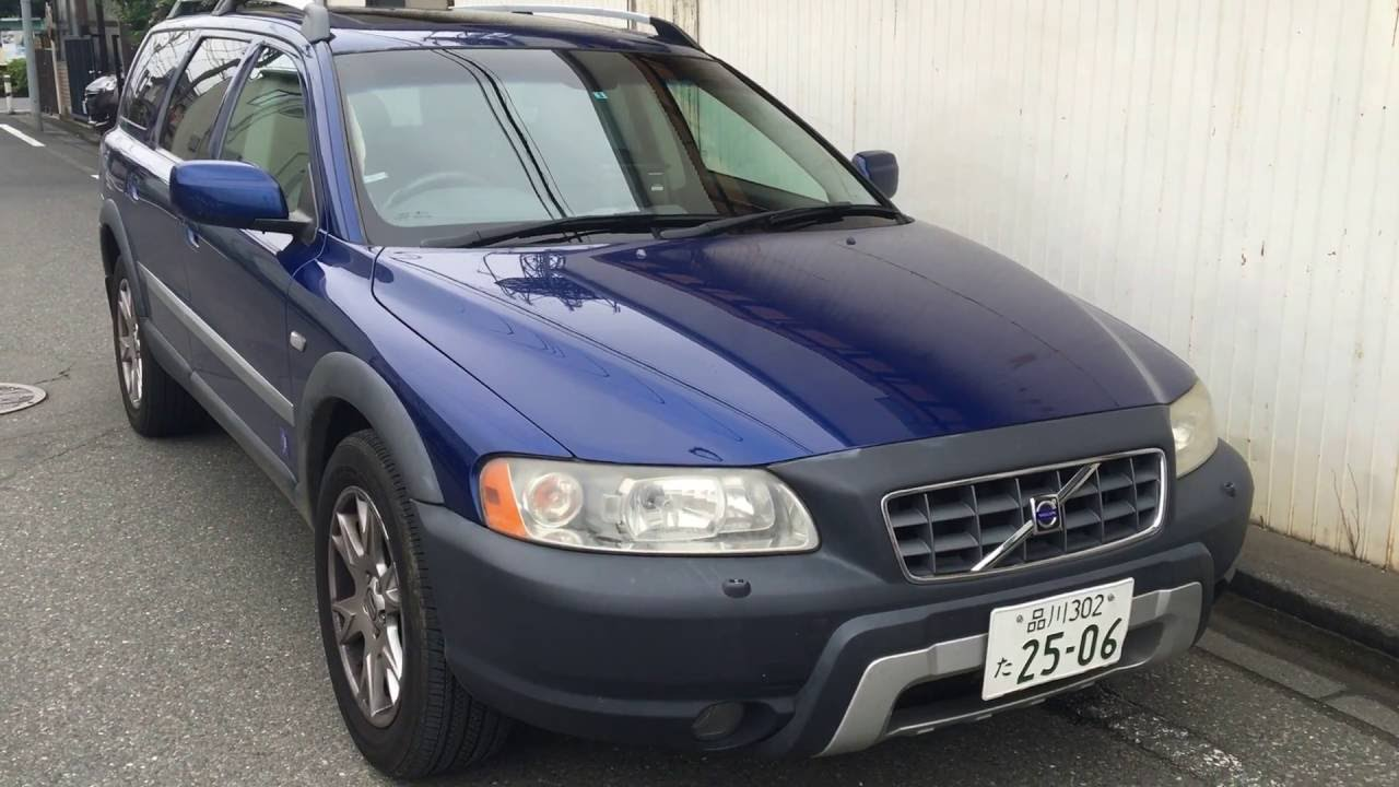 2006 volvo xc70 cross country leather seats for sale tokyo. Black Bedroom Furniture Sets. Home Design Ideas
