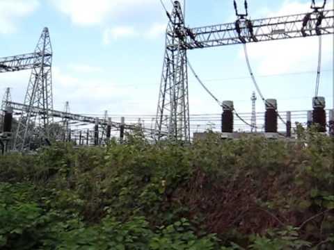 380 kV / 110 kV substation in Hamburg