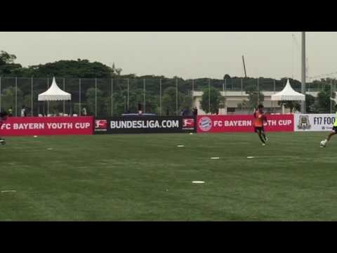 FC Bayer Munich Youth Cup under16,2017 Changi Village SRC (GEFA) VS Asia Youth FC