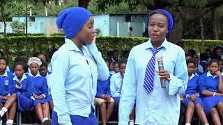 SCHOOL GIRLS DANCING SHULE YAKO BY MERCY MASIKA ...-AFRIKWEAR ENTERTAINMENT UNIT AT ST MARY'S