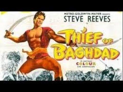 Download THIEF of BAGHDAD trailer, 1961. STEVE REEVES.