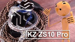 Review KZ ZS 10 Pro Indonesia