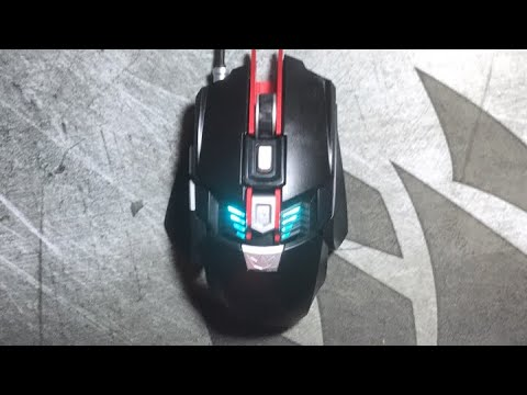 162d38825fd New black web gaming mouse - YouTube
