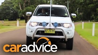 2015 Mitsubishi Triton 4x4 Dual Cab : Run Out review