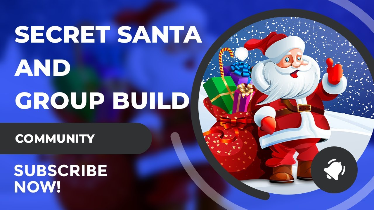 Come Join The SciFiantasy Secret Santa and Group Build!