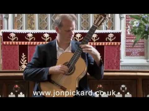 Wedding guitar music - El Noy De La Mare, Classical Guitar by Jon Pickard