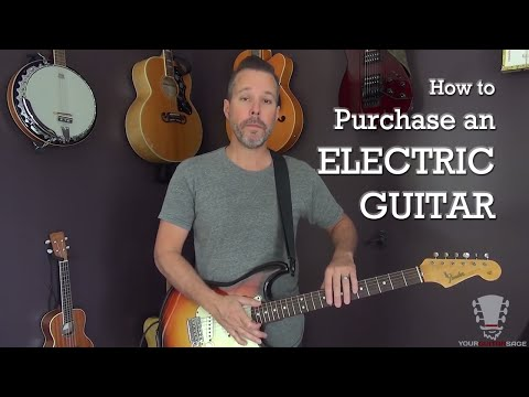 How to Purchase an Electric Guitar - Beginner Lesson