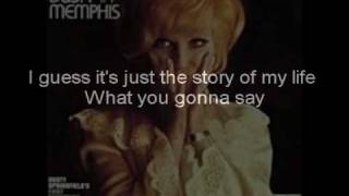 Dusty Springfield-In Private-lyrics version.wmv