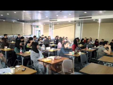 Copy of Ganesha NingBo at Nottingham University as guest speaker to post graduate student