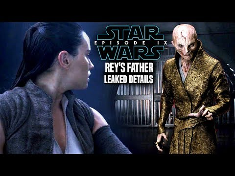 Star Wars Episode 9 Rey's Father Linked To Snoke! Leaked Details & Potential Spoilers