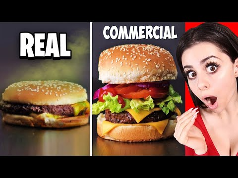 Lynn Hernandez - Some secrets of Food TV commercials. TV vs Real.