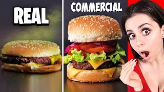 Download Food In Commercials VS  In Real Life ! Mp3 and Videos