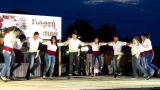Греческий танец хасапосервикос