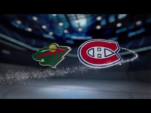 Minnesota Wild vs Montreal Canadiens - November 09, 2017 | Game Highlights | NHL 2017/18.Обзор матча