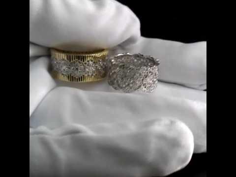 Бесшовные обручальные кольца