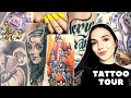 Gambar cover TATTOO TOUR 🖤 Meaning, artists, pain, reference photos - all about my tattoos! 🖤