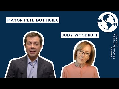 Mayor Pete Buttigieg, in conversation with Judy Woodruff
