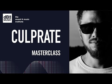 Culprate Masterclass at dBs Music 2018