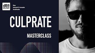 Culprate Masterclass at dBs Music 2018